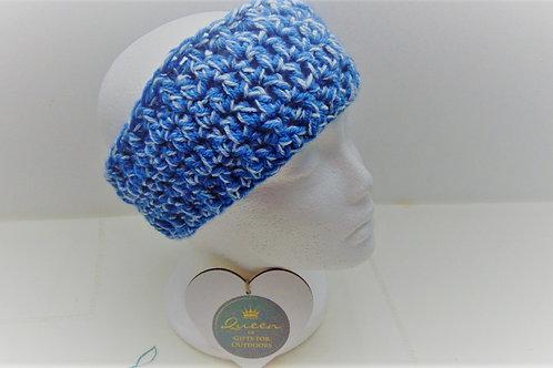 Ear Warmer Headband - Blue Denim. Gifts for Outdoors, Adventure Accessories