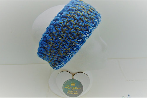Ear Warmer Headband - Opal. Gifts for Outdoors, Adventure Accessories