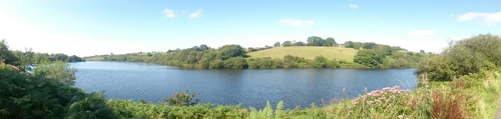 Lliw Reservoir - Nurtured by Nature. Adventure Accessories