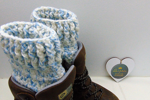 Boot Cuffs - Snowflake. Gifts for Outdoors, Adventure Accessories