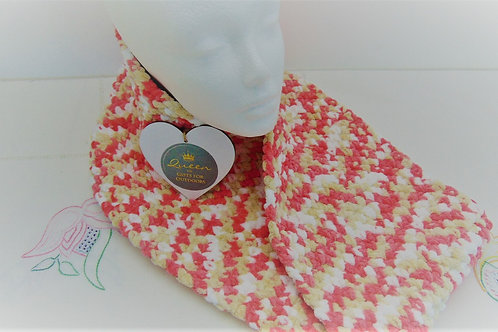 Cowl Scarf - Sweet Coral. Gifts for Outdoors, Adventure Accessories