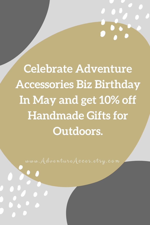 Biz Birthday Competiton Pinterest. Adventure Accessories