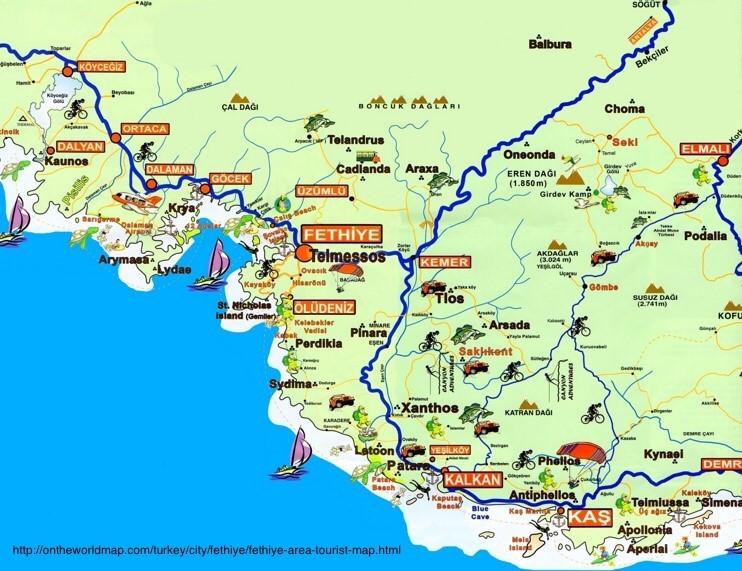 Turkey Map, Adventure Accessories