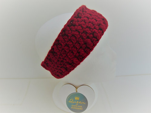 Ear Warmer - Claret, Gifts for Outdoors, Adventure Accessories