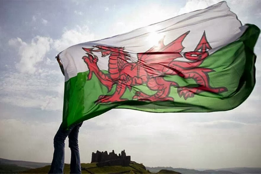 Wales, UK, Welsh flag. Adventure Accessories