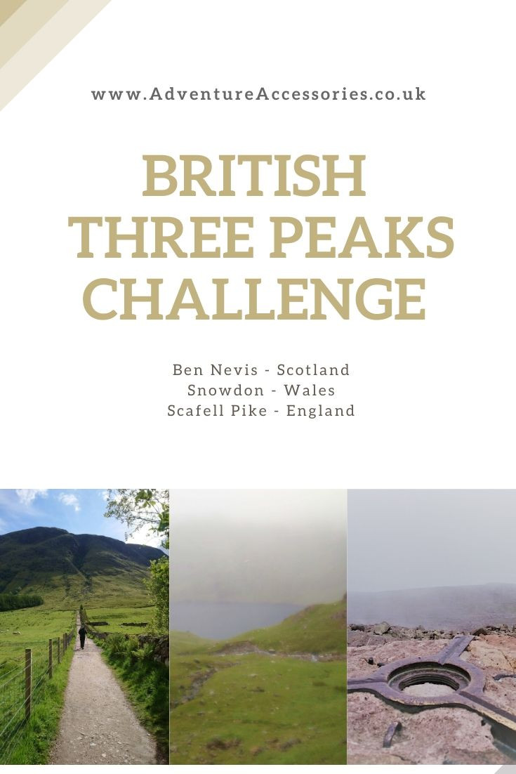 Pinterest, British Three Peaks Challenge by Adventure Accessories