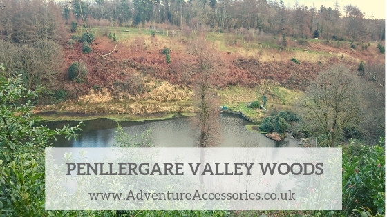 Penllergare Valley Woods, Swansea. Adventure Accessories