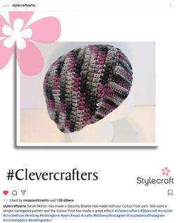 Stylecraft - Slouchy Beanie Hat