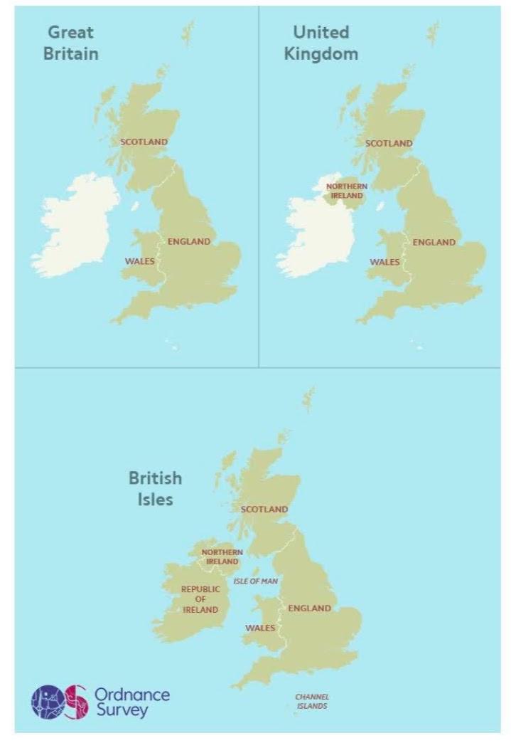 OS Maps - Great Britain, United Kingdom and British Isles. Adventure Accessories