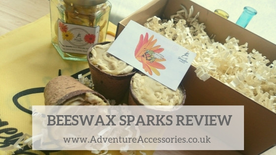 Honey Bee Candles, Fire Sparks Review. Adventure Accessories