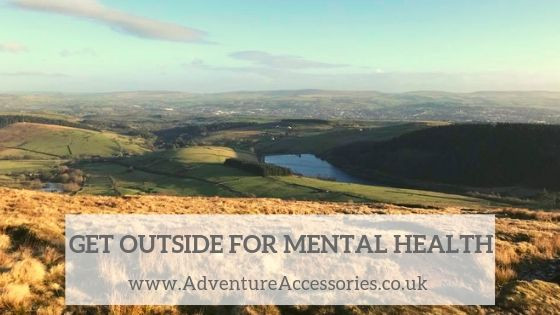 How Getting Outdoors Helped Me Fight Mental Illness. Adventure Accessories