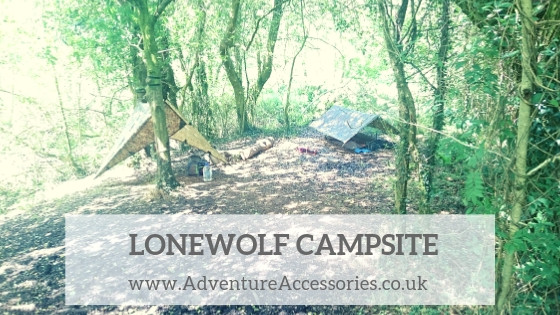Lonewolf campsite, Glyn y Mul Farm. Adventure Accessories