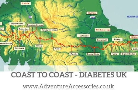 Coast to Coast for Diabetes UK