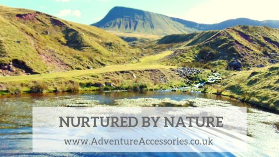 Nurtured By Nature - Adventure Wild. Adventure Accessories