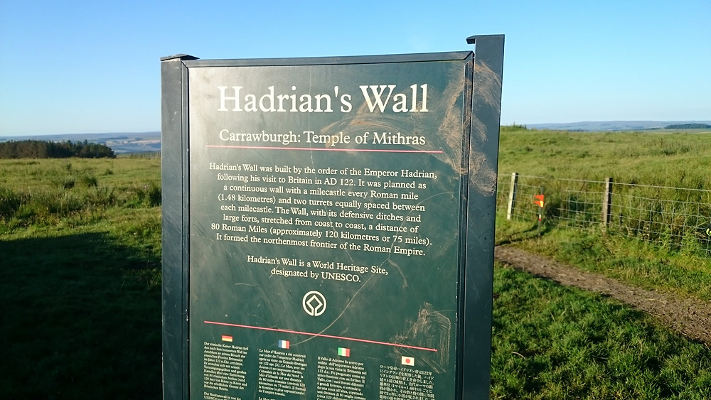 Hadrian's Wall. Adventure Accessories