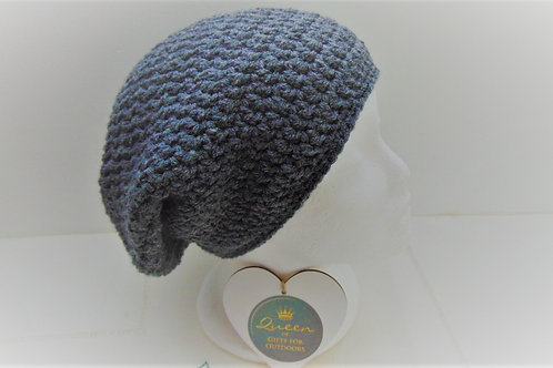 Brimless Slouchy Beanie - Grey. Gifts for Outdoors, Adventure Accessories