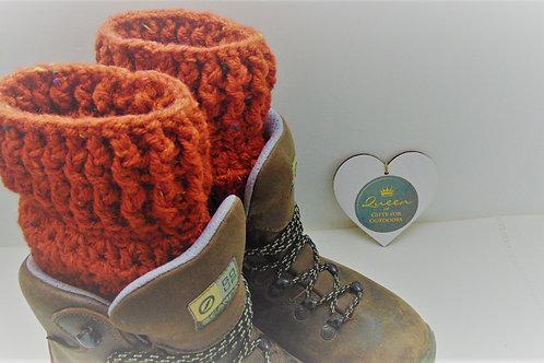 Boot Cuffs - Ginger