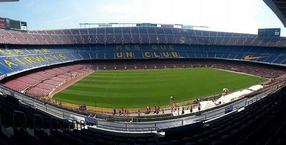Nou Camp Stadium, Barcelona. Adventure Accessories
