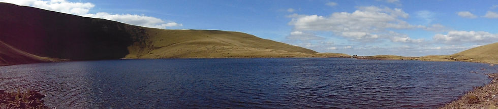 Landscape photo of Llyn y Fan Fach for Adventure Accessories, Gifts for Outdoors.