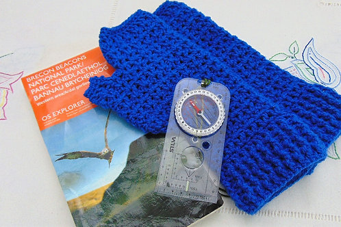 Hiking Mitts - Ocean. Gifts for Outdoors, Adventure Accessories