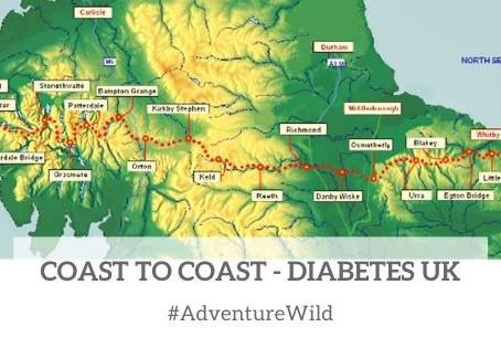 Coast to Coast for Diabetes UK