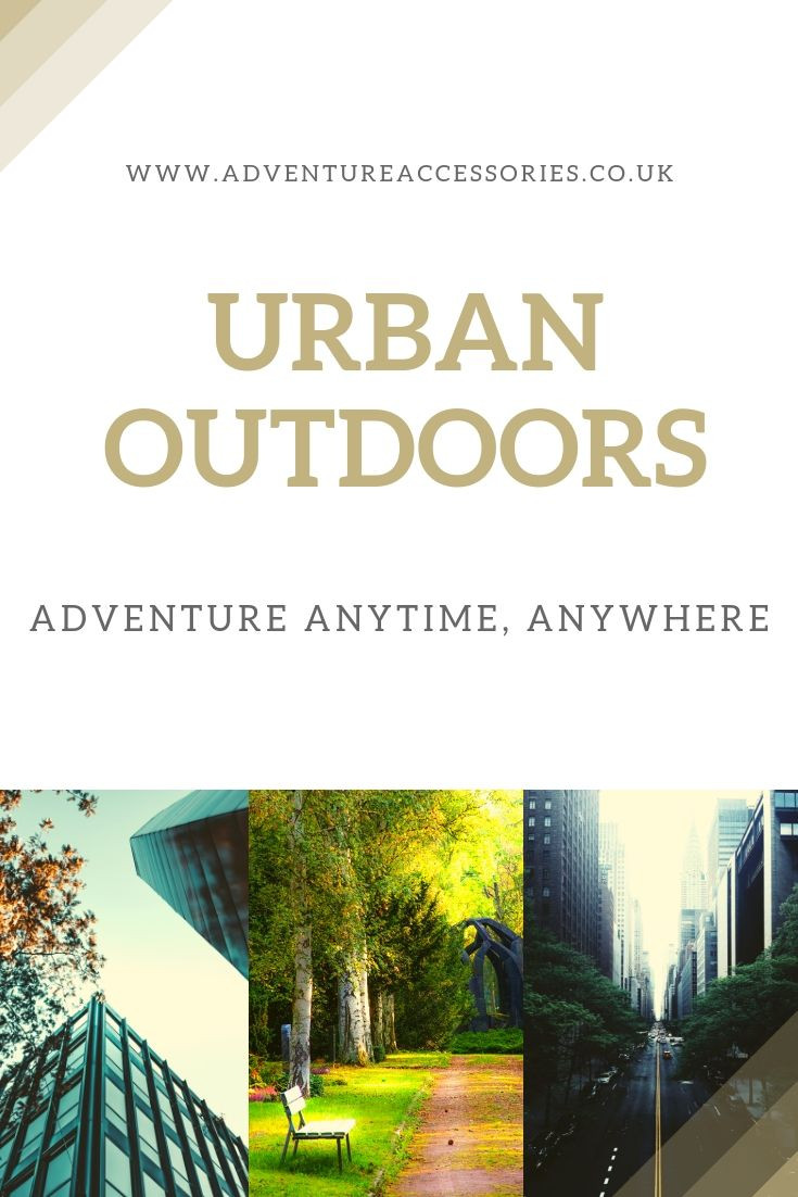 Urban Outdoors Pin. Adventure Accessories