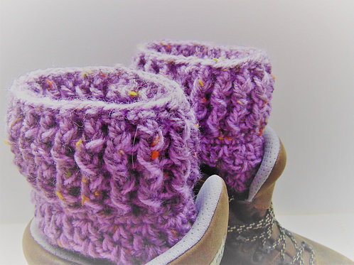 Amethyst ankle warmers from Adventure Accessories.
