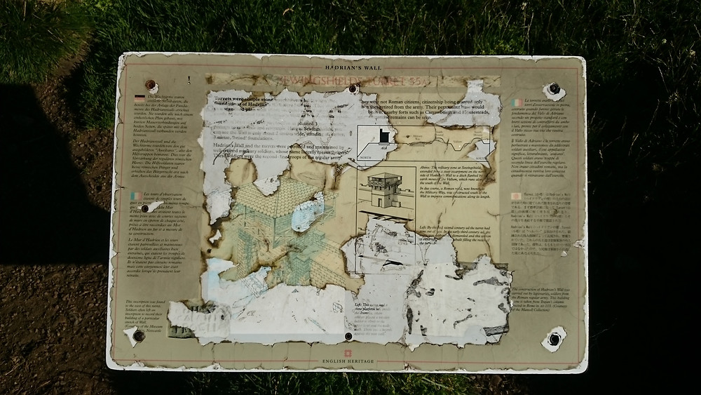Hadrian's Wall Map. Adventure Accessories