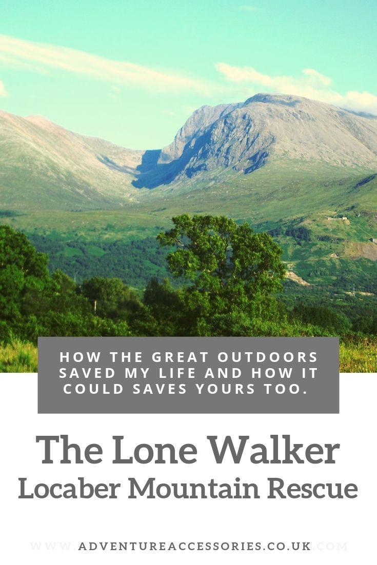 The Lone Walker, Ben Nevis. Adventure Accessories