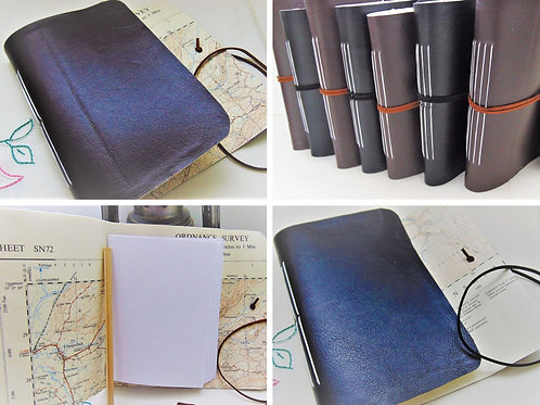 Traveller Notebooks, faux leather. Gifts for outdoors, Adventure Accessories