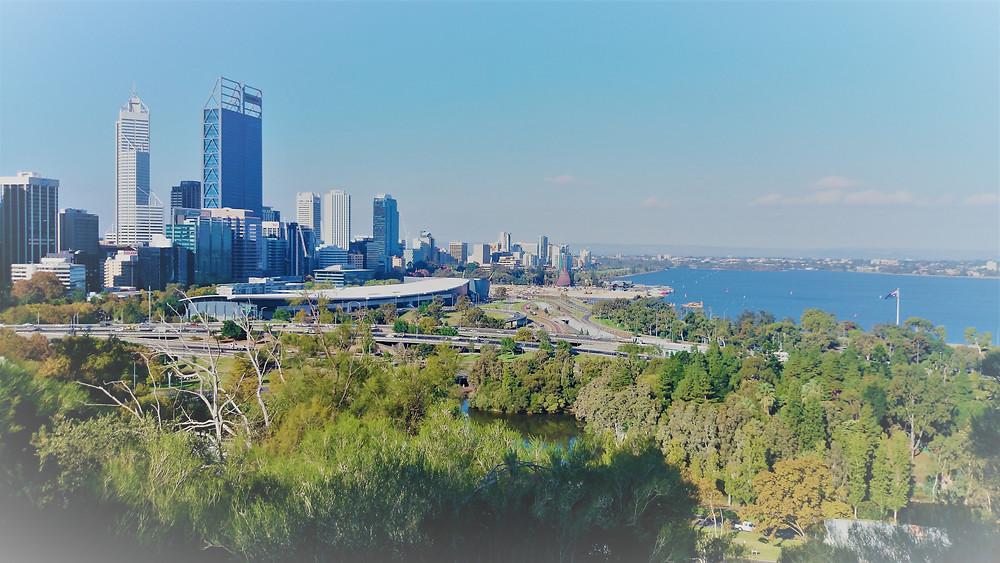 Perth Skyline. Adventure Accessories