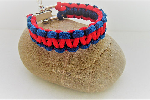 Blue and Red for Welsh Guards, Gifts for Outdoors, Adventure Accessories