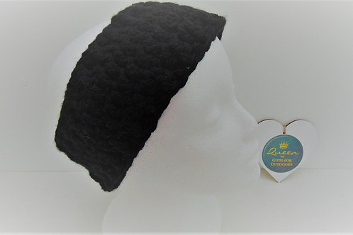 Ear Warmer Headband - Black. Gifts for Outdoors, Adventure Accessories