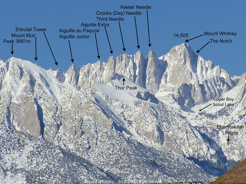 Mount Whitney, Mountain Survival. Adventure Accessories
