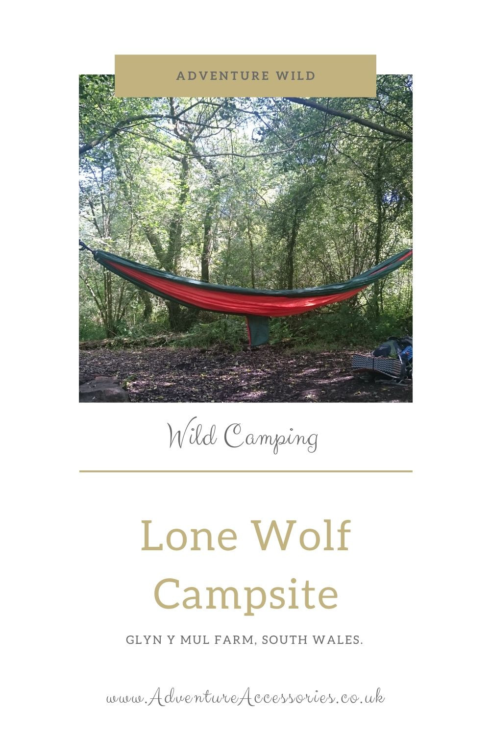 Lonewolf Campsite, Glyn y Mul Farm - Pinterest. Adventure Accessories