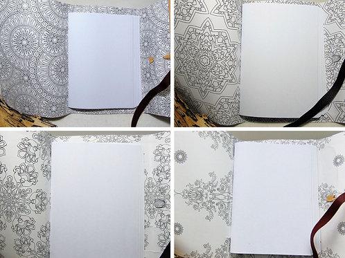 Traveller Notebook - Colouring Journal. Adventure Accessories