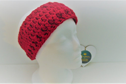 Ear Warmer Headband - Red. Gifts for Outdoors, Adventure Accessories