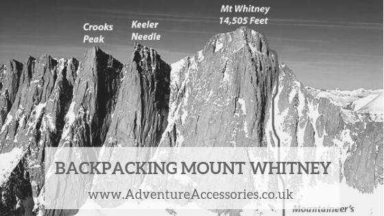 Culture Trekking, Backpacking Mount Whitney. Adventure Accessories