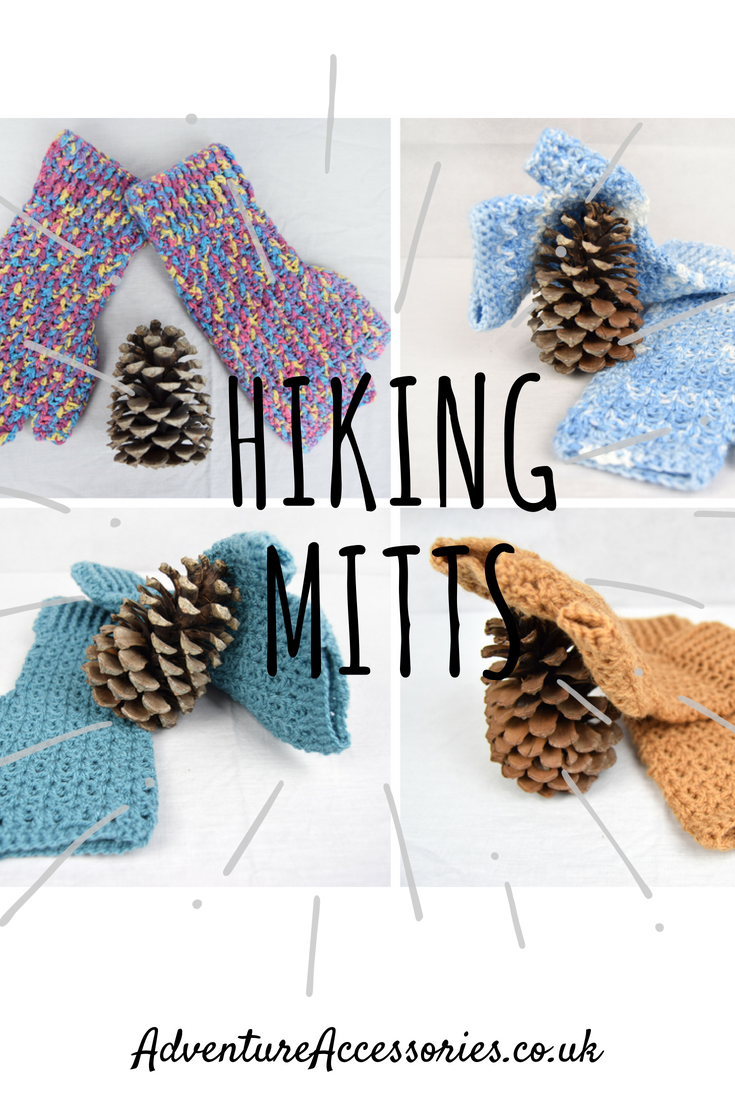 Hiking Mitts for outdoor pursuits, Adventure Accessories