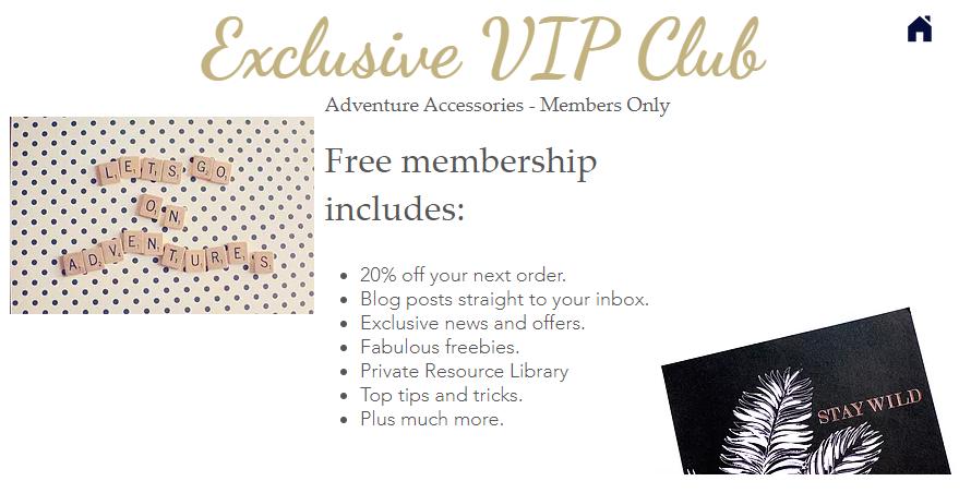 Adventure Accessories VIP Members Club