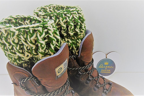 Boot Cuffs - Khaki Camo. Gifts for Outdoors from Adventure Accessories