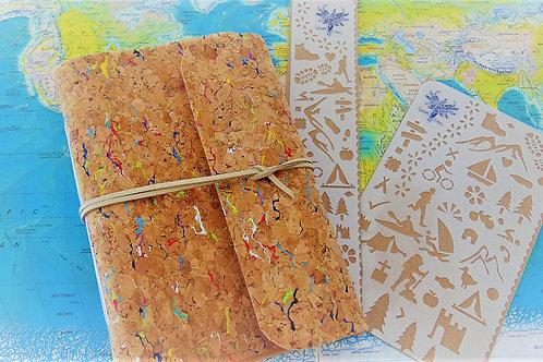 Adventure Set - Traveller Notebook & Activity Stencils