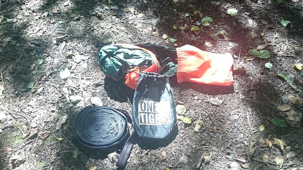 One Tigris hammock straps, Adventure Accessories