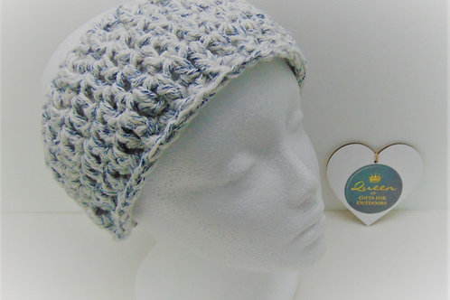 Ear Warmer Headband - Blue Denim, Gifts for outdoors, Adventure Accessories
