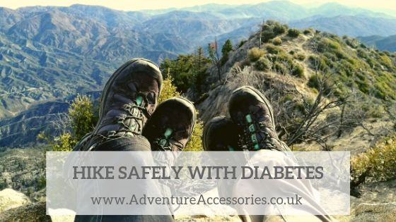 How to hike safely with diabetes by Adventure Accessories