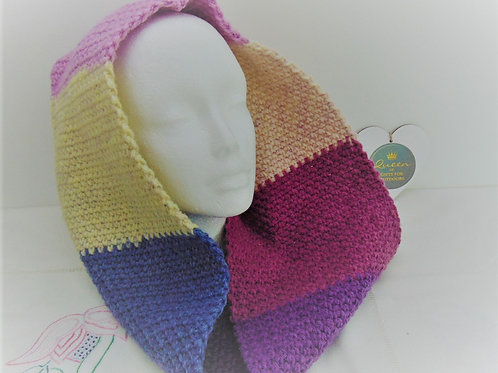 Cowl Scarf - Tayberry. Gifts for Outdoors, Adventure Accessories