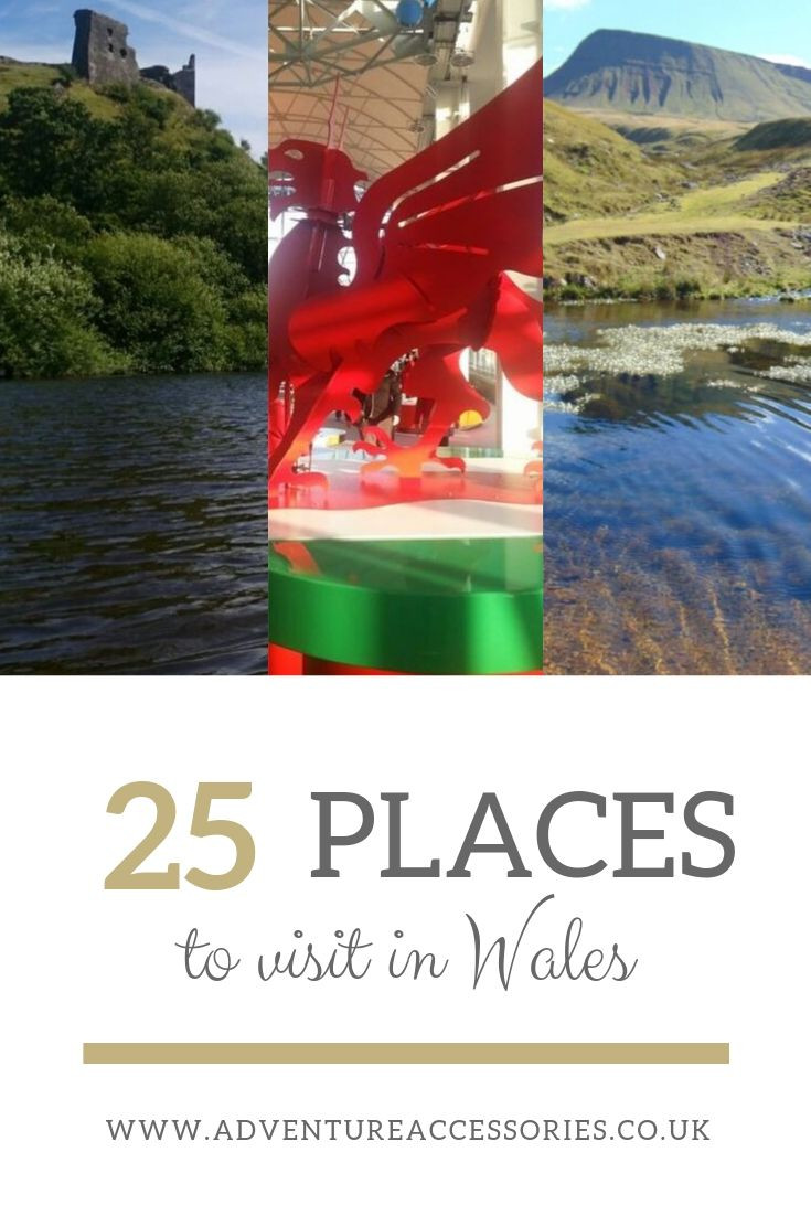 25 places to visit in Wales by Adventure Accessories