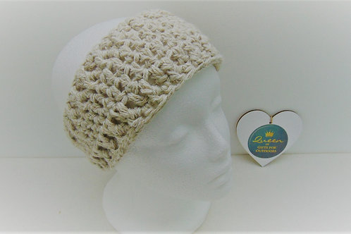 Ear Warmer - Sahara Cream. Gifts for Outdoors, Adventure Accessories