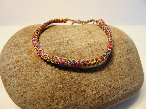 Rainbow Adventure Cord Bracelets, Gifts for Outdoors, Adventure Accessories