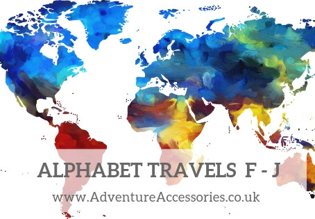 Alphabet Travels F to J